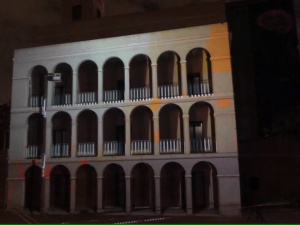 VideoMapping Torre Barrina