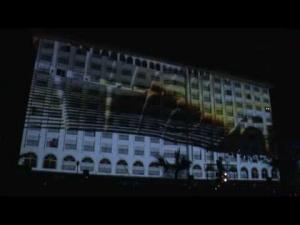 50. Altın Portakal Film Festivali Video Mapping