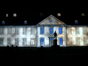 3D Projection Odense Culture Night 2011 - Odense Slot
