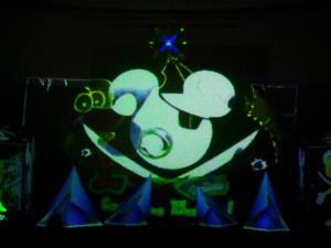 Video decoration for children's theatricals (Belarus-Minsk 2017)