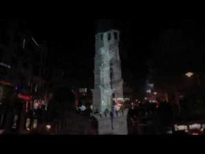 29 Ekim Cumhuriyet Bayrami Video Mapping // Canakkale