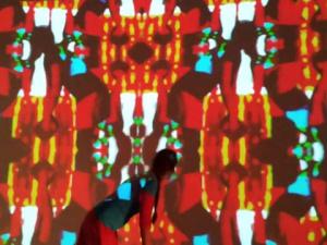 Juladi - handmade - interactive - installation - VJ Festival Nuremberg 2014