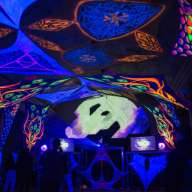 """kardiograma"" acid/psy stage 2015"