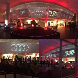 Eye See Experience - Audi Showroom Openning - Abu Dhabi 2016