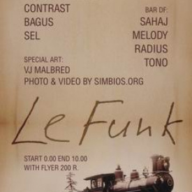 "1 MAY LEXICA CLUB ""Le-Future Le-Funk"""