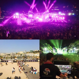 Holi festival of colours - Beirut 2015