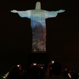 Projeção Mapeada Cristo Redentor
