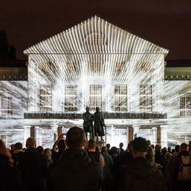 KLANG³ | projection mapping @ deutsches national theater weimar