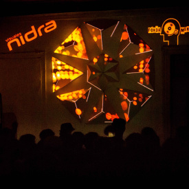 Fonda_mental mandala's video mapping by Visuales Nidra