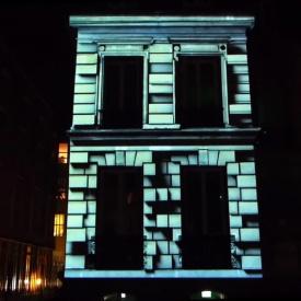 MAPPING ARCHITECTURAL - NUIT EUROPÉENNE DES MUSÉES 2015