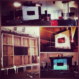 Terraz Party - Cube Stage