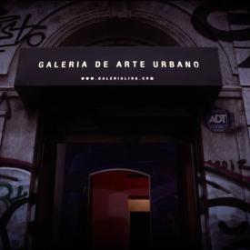 Mapping opening Festival de Arte Urbano 2016 / Galeria Lira