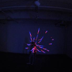 "Siauliu dailes galerija ""digitizer"" 2016 interactive kinect installation"