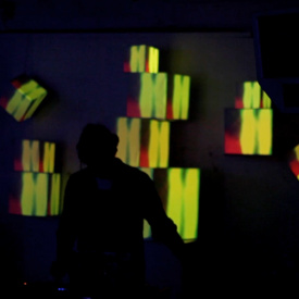 Mimm Secret Sessions 27/07/13 Visuals