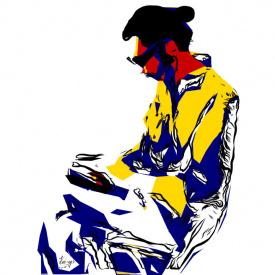 LUCIE DEHLI LIVE EXTRACTS, ViJing on iPad