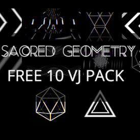 FREE VJ FOOTAGE LOOPS HD SACRED GEOMETRY PACK