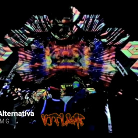 VJ FLAME - Mapping Natureza Alternativa