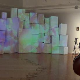 Benjamin Drury Third Performance for Kinetic Light Installation View