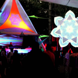 Solstice Gathering Ontario | Spore Stage with Dj Plan B and Vj Guy
