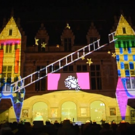 "Videomapping ""Droom je Droom"""