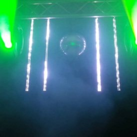 Pixel Mapping and Beams. Event lighting Huntsville