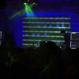 Atmolight and other visuals @ Chiptune Invasion