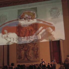 """""""Bibliomania"""" @ Cappella Farnese, Palazzo d'Accursio Bologna"""