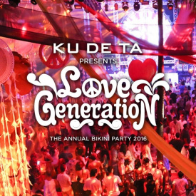 KU DE TA Bikini Party 2016 : Love Generation