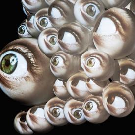 NEGUA created by KALYPSO | interactive Video Sculpture | BLOOM Award / ArtFair Cologne 2015