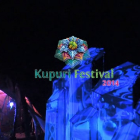 Kupuri stage videomapping