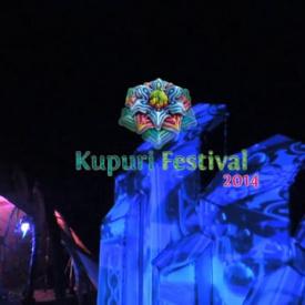 Kupuri stage videomapping