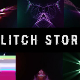 Glitch Storm VJ 6 Loops Pack