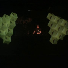 Video mapped Cubes I
