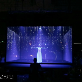 Hologram show for Huawei CC 2016 (Shanghai)