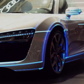 Audi R8 Mapping Test