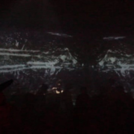 VJing at Out of the Factory 2017 (into the factory replacement party)
