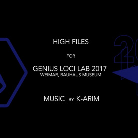 """Verstörend""-Videomapping at Genius Loci Lab 2017- High Files"