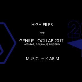 """Verstörend""-Videomapping at Genius Loci Lab 2017- High Files"