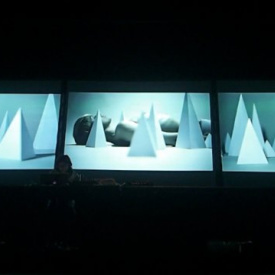 "A/V set"" Exosphere in. Entalpia. "" @ LPM Mexico City 2013"