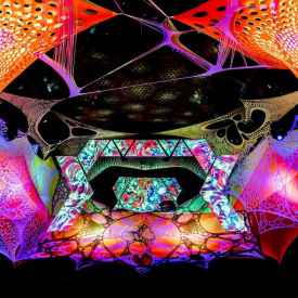 GROOVADELIC - Le Zoo/Usine - Report Visuals #3