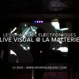 Visuals Abstrakt Reflections label night