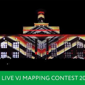 VJ Dep - LIVE VJ MAPPING CONTEST 2017
