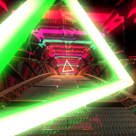 FREE VJ CRAZY LOOP TUNNEL