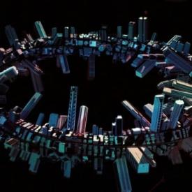 3D Mapping on Tape by ONDE & Klebebande @ GENERATOR Berlin