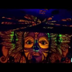 Face Stage by MasterDamus Visual Live Act @ TRILOGY by UNITY - Purim 2016