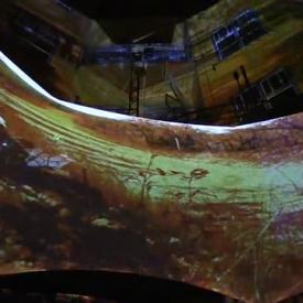 CROSS GARDEN IN MEDITATION - Australian Background by KinocirKus