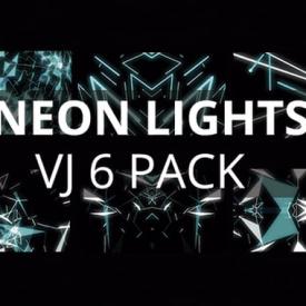 Neon Lights VJ LOOPS PACK