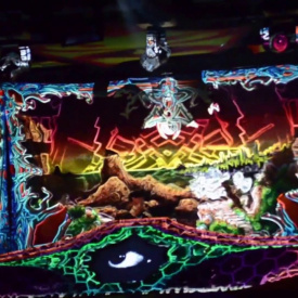 Videomapping @Psychedelic Culture 2 / 31.03.2017 Arena 34 (Vienna)