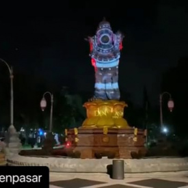 CATUR MUKA DENPASAR PROJECTION MAPPING 2020