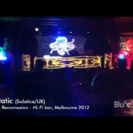 Eat Static (Solstice/UK) Live @ Maitreya Reconnexion, hi-fi bar 2012 + BlueMD VJ Set